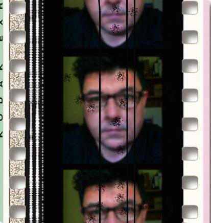 Oooh look, I'm on film!