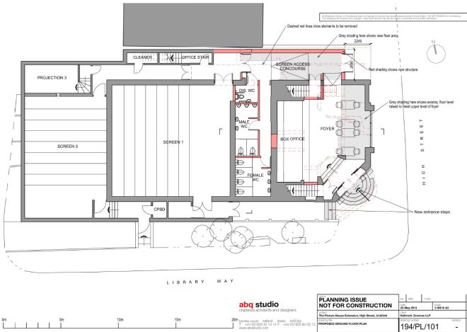 New Ground Floor Layout. Subject to tweaking of course.